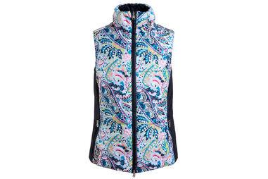 GOLFINO Ladies Reversible Paisly Vest