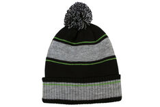 Palm Grove Knit Pom Pom Beanie
