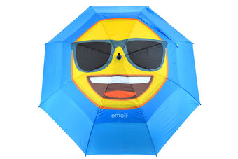 Emoji Cool Face Double Canopy Umbrella