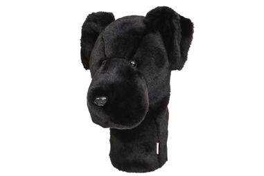 Daphne's Black Labrador Tierkopf-Überzüge