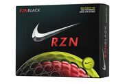 Nike Golf RZN Tour Black Volt 12 Ball Pack