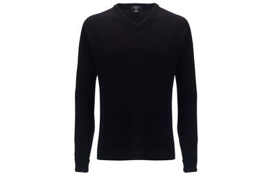 Callaway Golf Lambswool High V Neck Sweater