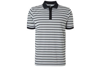 Callaway Golf Chev Striped Polo Shirt