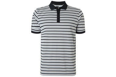 Callaway Golf Chev Striped Poloshirt