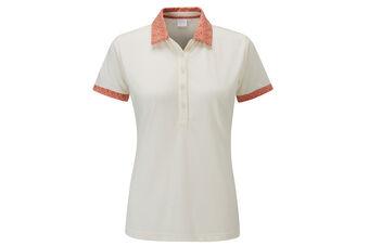 PING Adora Print Collar Ladies Polo Shirt