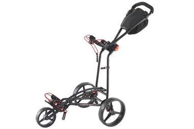 BIG MAX Autofold Flat Fold 3-Wheel Push Trolley