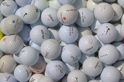 100 balles de golf d'occasion Hit Away Practice