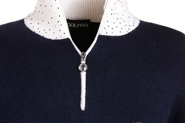 Golfino Polo Knitted CrystalW6