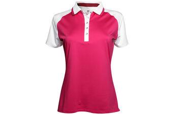 Palm Grove Colour Block Ladies Polo Shirt
