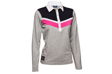 Daily Sports Ladies Tilly Long Sleeve Polo Shirt