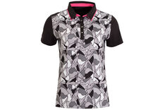 Calvin Klein Patterned Ladies Polo Shirt