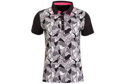 Calvin Klein Ladies Patterned Polo Shirt