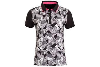 Calvin Klein Patterned Ladies Polo Shirt
