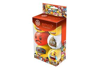 Emoji Golf 6 Ball Gift Pack