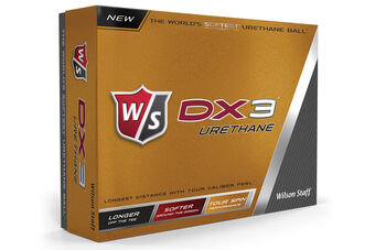 Wilson Staff DX3 Urethane 12 Ball Pack