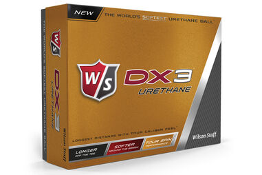 Wilson Staff DX3 Urethane 12 Golf Balls