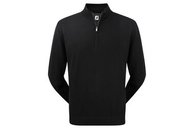 FootJoy Lambswool Lined Half Zip Sweater