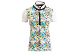 Calvin Klein Printed Ladies Polo Shirt
