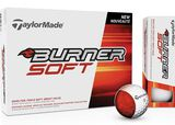 12 Balles de golf TaylorMade Burner Soft