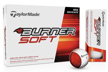 TaylorMade Burner Soft Golfbälle 12 Stück