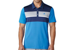 adidas Golf Chest Block Polo Shirt