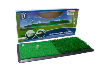PGA Tour 2 in 1 Turf Practice Mat