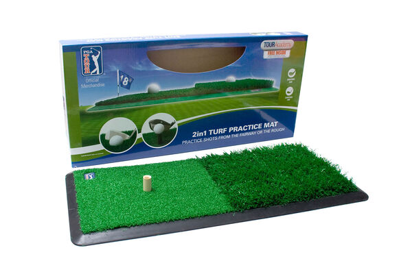 Tappeto da allenamento golf PGA Tour 2 in 1