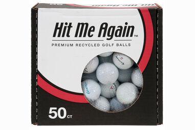 50 Balles de golf de Qualité Récupérées Challenge Golf
