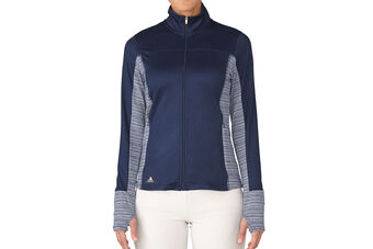 adidas Golf Rangewear Full Zip Ladies Windshirt