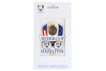 Ryder Cup Cap Clip & Ball Markers