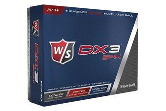 Wilson Staff DX3 Spin 12 Ball Ball Pack