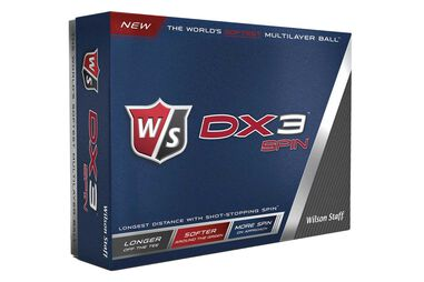 12 Balles de golf Wilson Staff DX3 Spin