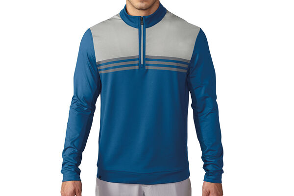adidas Golf climacool Colour Block 1/4 Zip Windtop