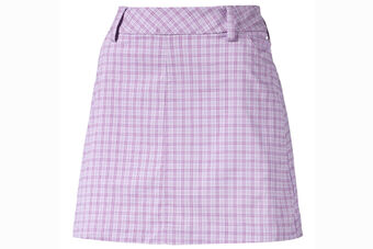 PUMA Golf Plaid Ladies Skirt