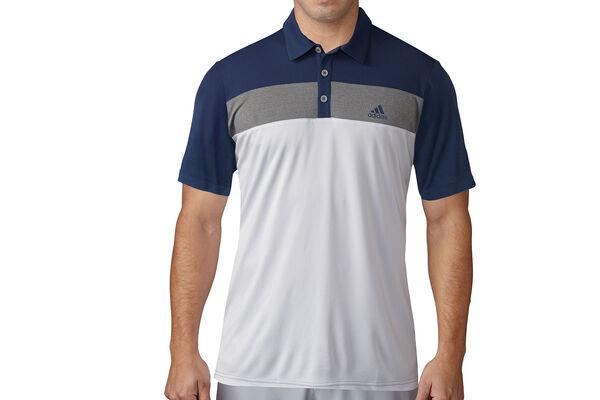 Adidas golf advantage polo shirt from american golf for Golf shirt vs polo shirt