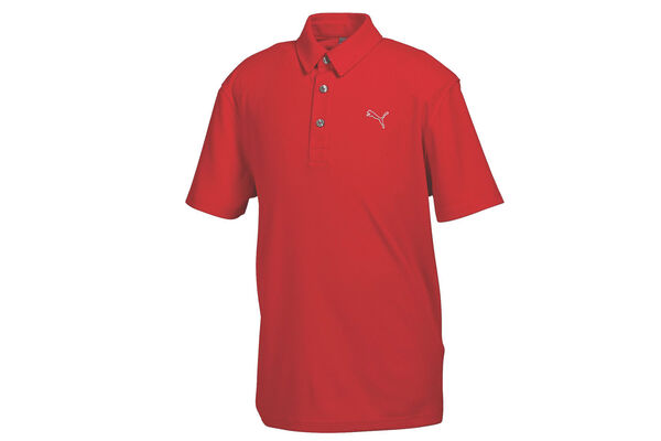PUMA Golf Junior Tech Polo Shirt