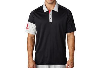adidas Golf Sleeve Blocked Polo Shirt