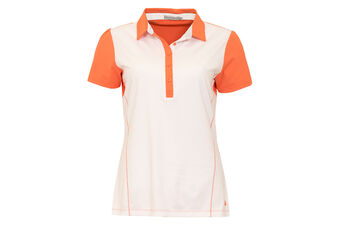 Green Lamb Short Sleeve Stretch Ladies Polo Shirt