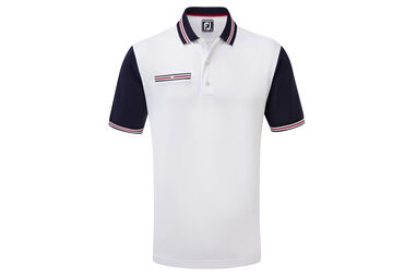 Polo FootJoy Stretch Pique Trims
