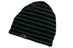 Calvin Klein Reversible Stripe Beanie