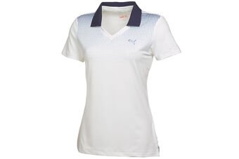 PUMA Golf Glitch Fade Ladies Polo Shirt