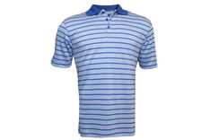 Palm Grove Striped Modal Polo Shirt