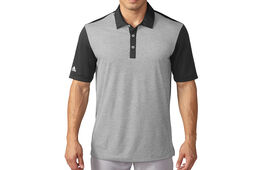 adidas Golf climachill Heather Stripe Polo Shirt
