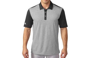 adidas Golf climachill Heather Stripe Polo Shirt