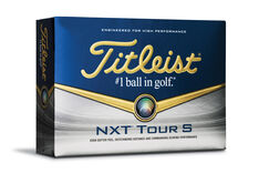 Titleist NXT Tour S 12 Ball Pack