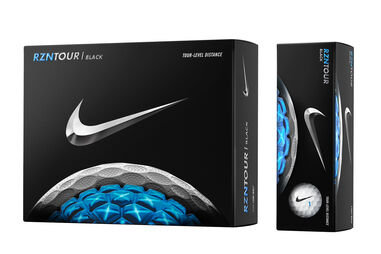 12 palline da golf Nike Golf RZN Tour Black 2016