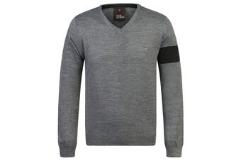 Oscar Jacobson Nero Pin Sweater