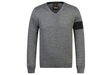 Oscar Jacobson Nero Pin Sweatshirt