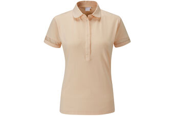 PING Mila Sheer Panel Ladies Polo Shirt