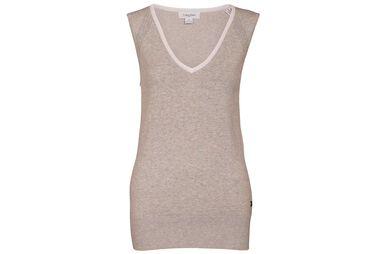 Calvin Klein Ladies Pointelle Vest